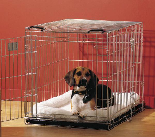 Savic ДОГ РЕЗИДЕНС (Dog Residence) клетка для собак, цинк, 50Х33Х40 см