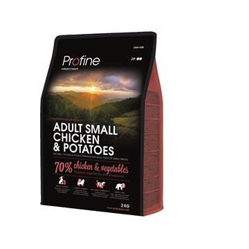 Profine Adult Small Breed Chicken & Potatoes - корм для собак малых пород, 2 кг