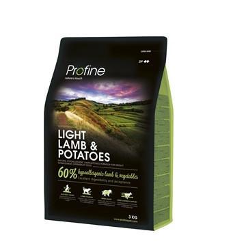 Profine Light Lamb & Potatoes - корм для оптимизации веса собак, 3 кг