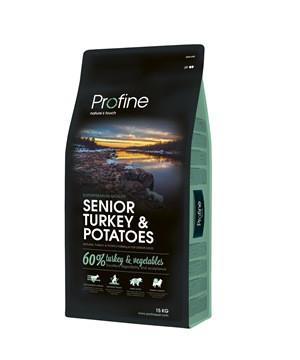 Profine Senior Turkey & Potatoes - корм для пожилых собак, 15 кг