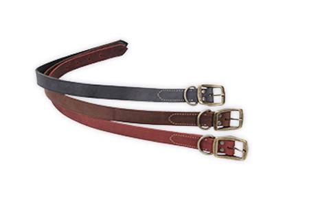 Coastal Rustic кожаный ошейник для собак, шоколад, 2,5смХ60см