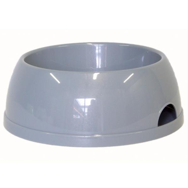Moderna МОДЕРНА ЭКО №4 миска для собак, 2450 мл, светло-серый