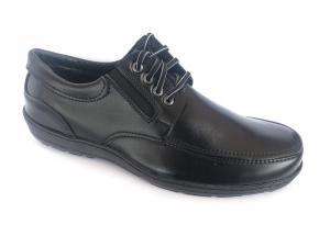 Фото Туфли мужские, Туфли мужские демисизонные Туфли черный на шнурках мужские Pilot - T-02