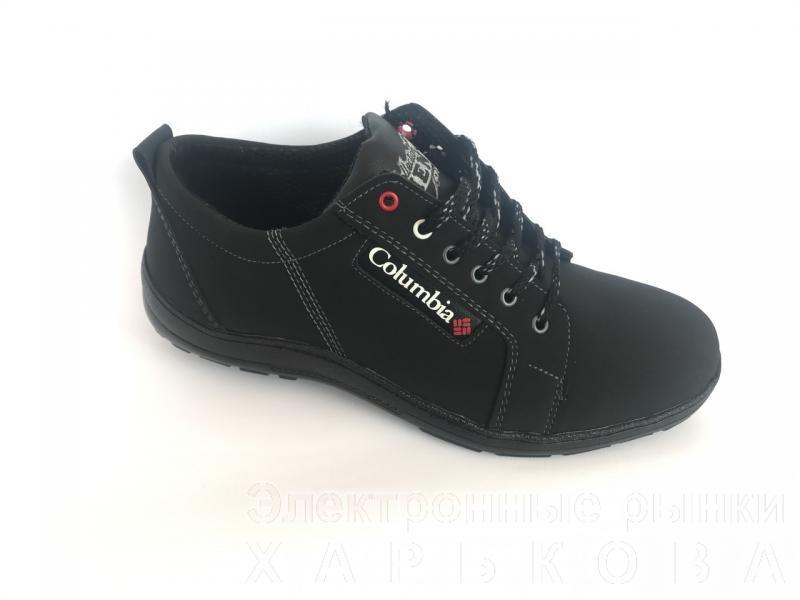 Туфли на шнурках мужские черный Cardinal Т-1