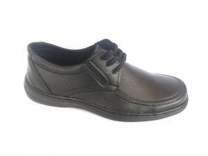 Фото Туфли мужские, Туфли мужские демисизонные Туфли чёрные на шнурках мужские  ANKOR - 2