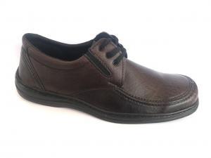 Фото Туфли мужские, Туфли мужские демисизонные Туфли коричневый на резинках мужские ANKOR-2
