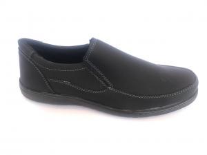 Фото Туфли мужские, Туфли мужские демисизонные Туфли черный на резинках мужские PERFECT - T-02