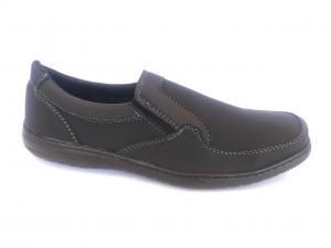Фото Туфли мужские, Туфли мужские демисизонные Туфли черный на резинках мужские PERFECT - T-04