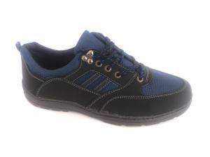 Фото Туфли мужские, Туфли мужские демисизонные Туфли спортивный на шнурках мужские синий  Comfort T-10