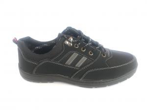 Фото Туфли мужские, Туфли мужские демисизонные Туфли спортивный на шнурках мужские черный Comfort T-10