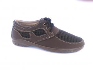 Фото Туфли мужские, Туфли мужские летние Туфли спортивный на шнурках мужские коричневый PILOT - 31