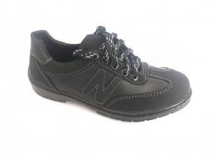 Фото Кроссовки подростковые Туфли спортивные подростковый чёрный ANKOR кр-6(сер)