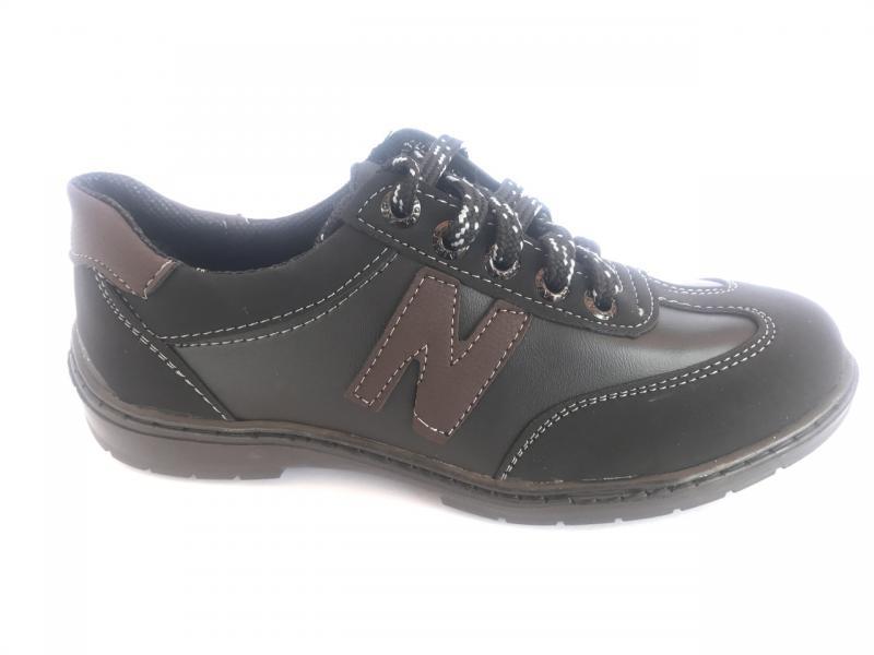 Туфли спортивные подростковый чёрный ANKOR кр-6(кор)