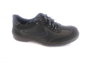 Фото Кроссовки подростковые Туфли спортивные подростковый чёрный ANKOR кр-7(син)