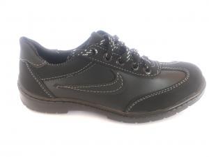 Фото Кроссовки подростковые Туфли спортивные подростковый чёрный ANKOR кр-7