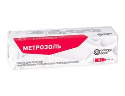 Метрозоль паста 8г