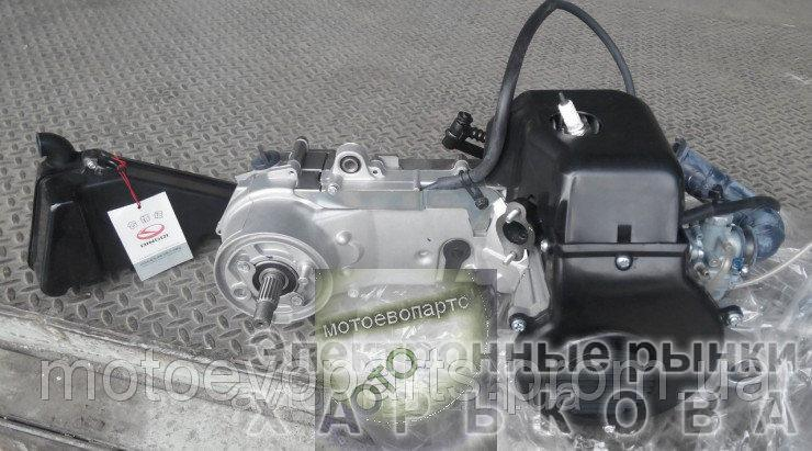 Двигатель ТВ-60 китаский СУЗУКИ цепной вариатор полный комплект - Запчасти на скутеры, мопеды на рынке Барабашова