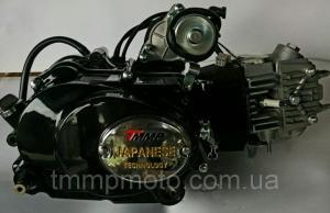 Фото Двигатели в сборе для мототехники Двигатель  Дельта, Delta/Alpha 125 сс ТММР Racing механическое сцепление , заводской двигатель
