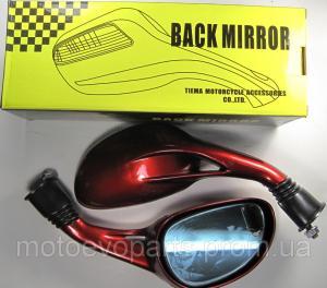 Фото Запчасти для китайских скутеров 125/150/170куб Зеркала капля красные