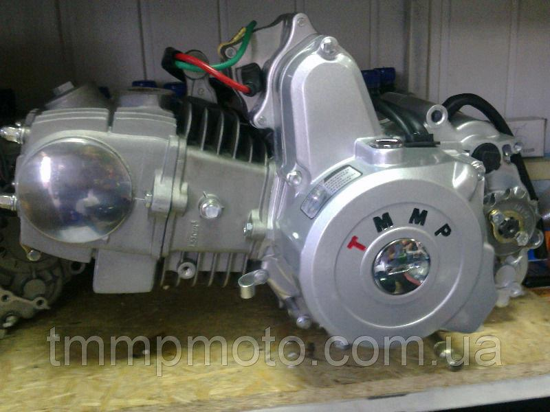 Мотодвигатель ТММР Racing Дельта Альфа -125 алюминиевый цилиндр механика       NEW