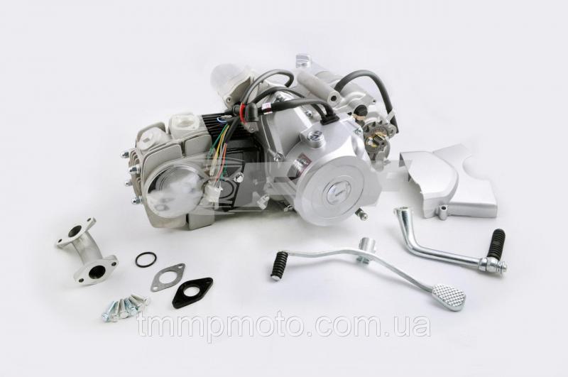 Мото двигатель Дельта-110 механика заводской