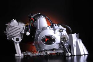 Фото Двигатели в сборе для мототехники Двигатель Актив Дельта Альфа -110 полуавтомат