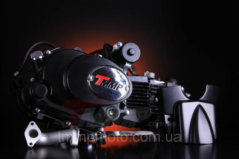 Двигатель Дельта-125 для квадроциклов ( 3 вперёд и 1 передача назад ) полуавтомат