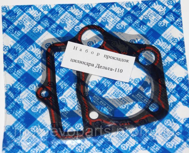 Набор прокладок цилиндра Дельта-110 2-шт EVO