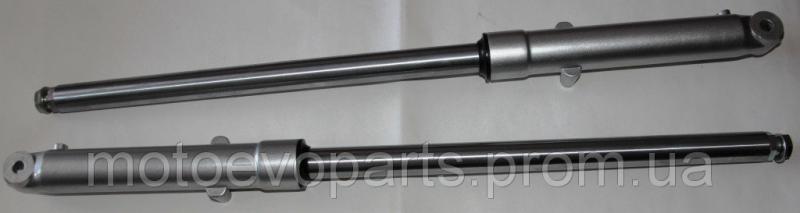 Перья вилки Дельта d=27mm с внутренней пружиной
