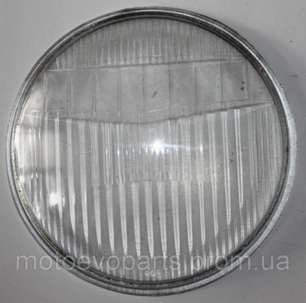 Стекло фары Дельта круглое 140mm
