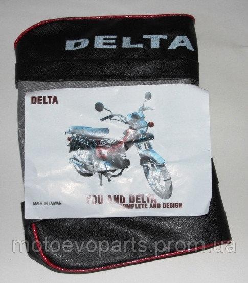 Чехол сиденья Дельта пассажирское TAIWAN с надписью DELTA