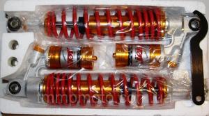 Фото Запчасти к Minsk/SONIK/Viper/125/150/200/250 модели CG на штангах с нижним распредвалом Амортизаторы задние MINSK SONIK с подкачкой