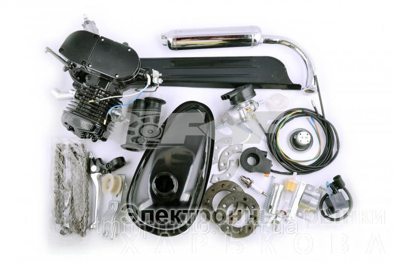 Веломотор 80 сс Дырчик чёрный с ручным стартером - Элементы сцепления для мототехники на рынке Барабашова