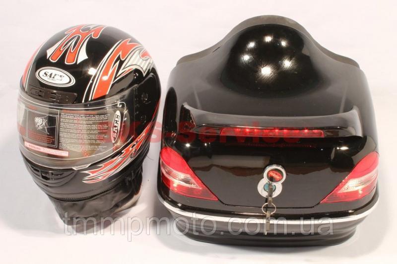 Кофра Мерседес с шлемом чёрная