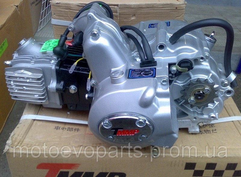 Двигатель Дельта Альфа125 сс ТММР Racing механика, заводской двигатель, механическое сцепление. Двиг
