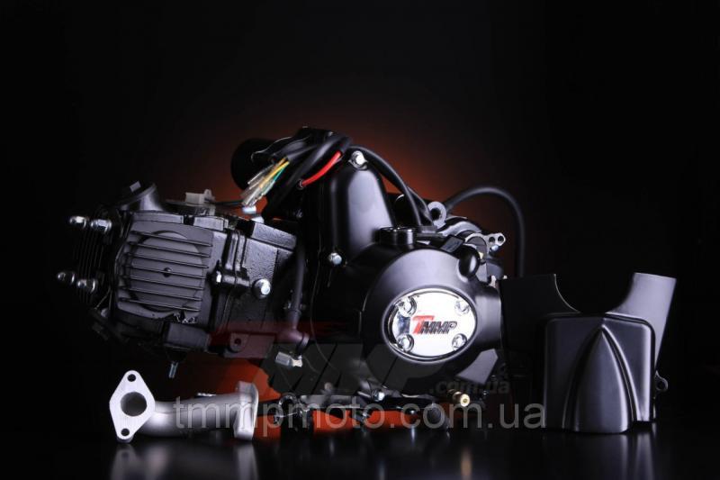 Двигатель ATV-125 для квадроциклов ( 3 вперёд и 1 передача назад ) механика