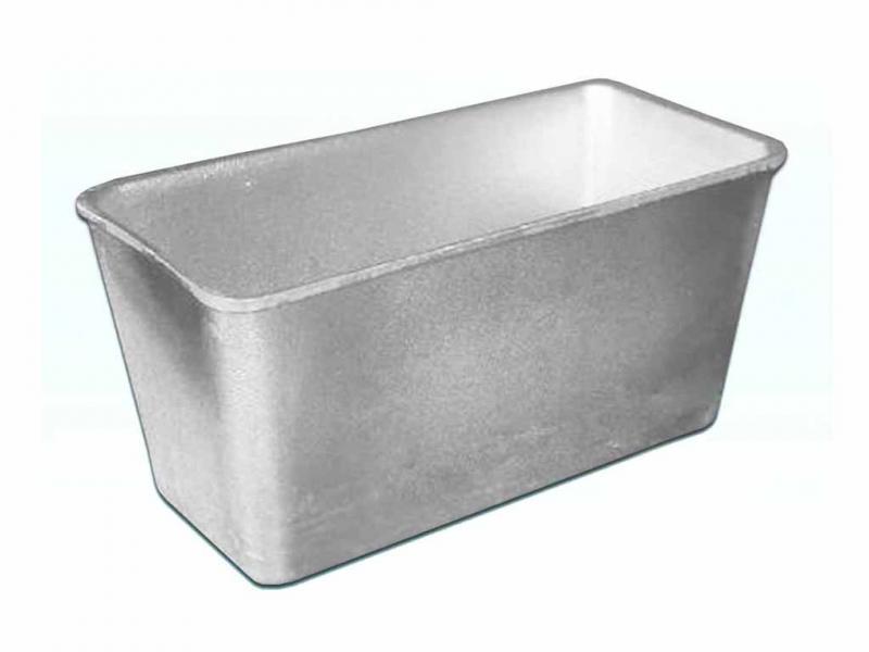 Форма для хлеба алюминиевая 0,6л
