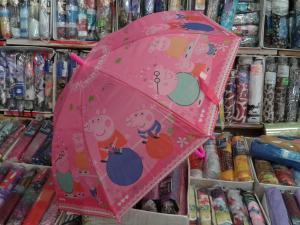 Фото  Детский зонт :