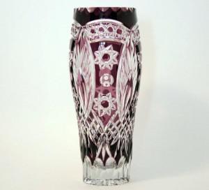 Фото Вазы для цветов Ваза цветной хрусталь-марганец