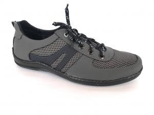 Фото Туфли мужские, Туфли мужские летние Туфли спортивный на шнурках мужские серый Perfect - сетка
