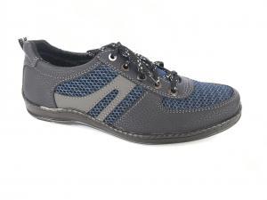Фото Туфли мужские, Туфли мужские летние Туфли спортивный на шнурках мужские синий Perfect - сетка