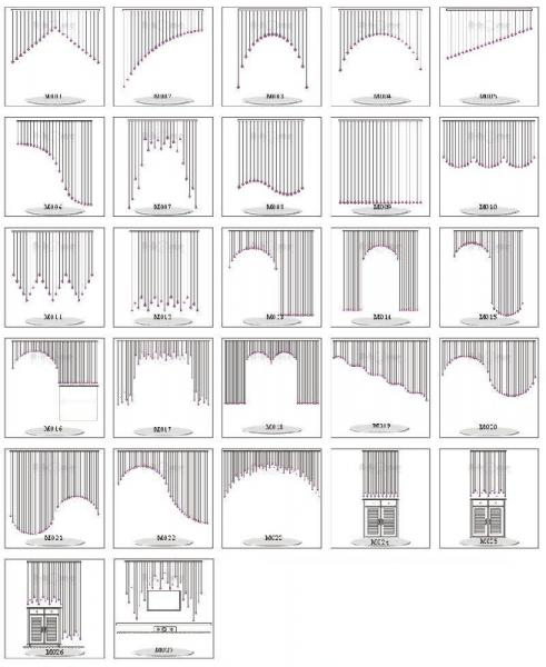 Макеты штор