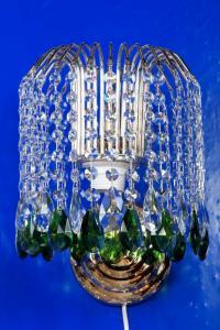 Фото Бра и настольные лампы Бра каскад зелёный жур.