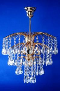 Фото Классические люстры Брызги шампанского с журавликом