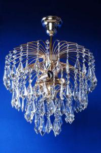 Фото Классические люстры Брызги шампанского с призмой