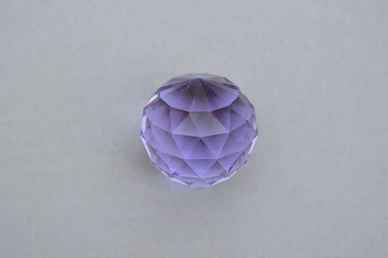 Хрустальный шар сиреневый(d=40мм)