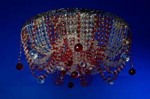 Фото Потолочные люстры Анжелика лотос цветная