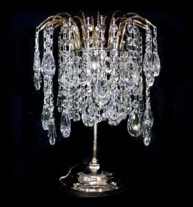 Фото Настольные лампы Настольная лампа Зима Медальон