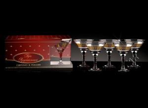 Фото Стеклоизделия, Фужеры, бокалы, рюмки, бренди, мартини Бокалы Мартини рисунок Версаль