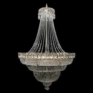 Фото Хрустальные люстры в лестничный проем Люстра большого размера Водопад с подвесом